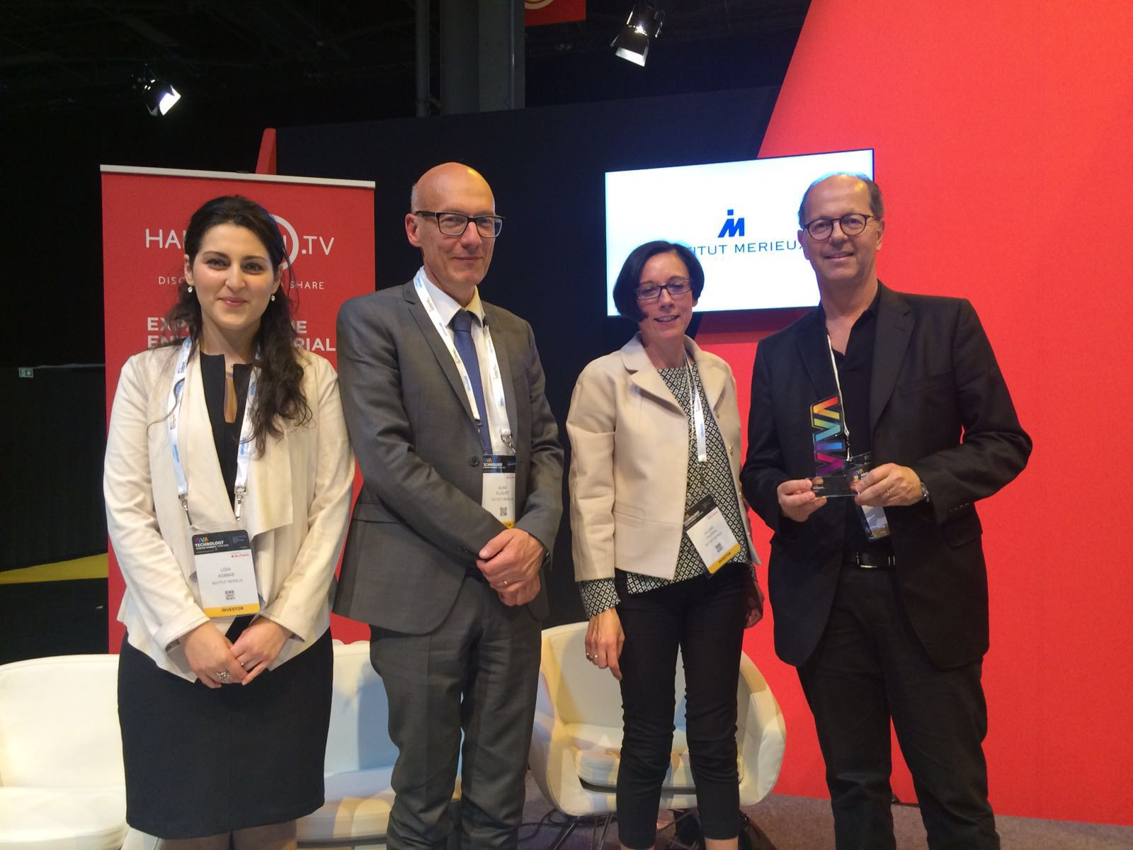 lauréat viva technology 2016