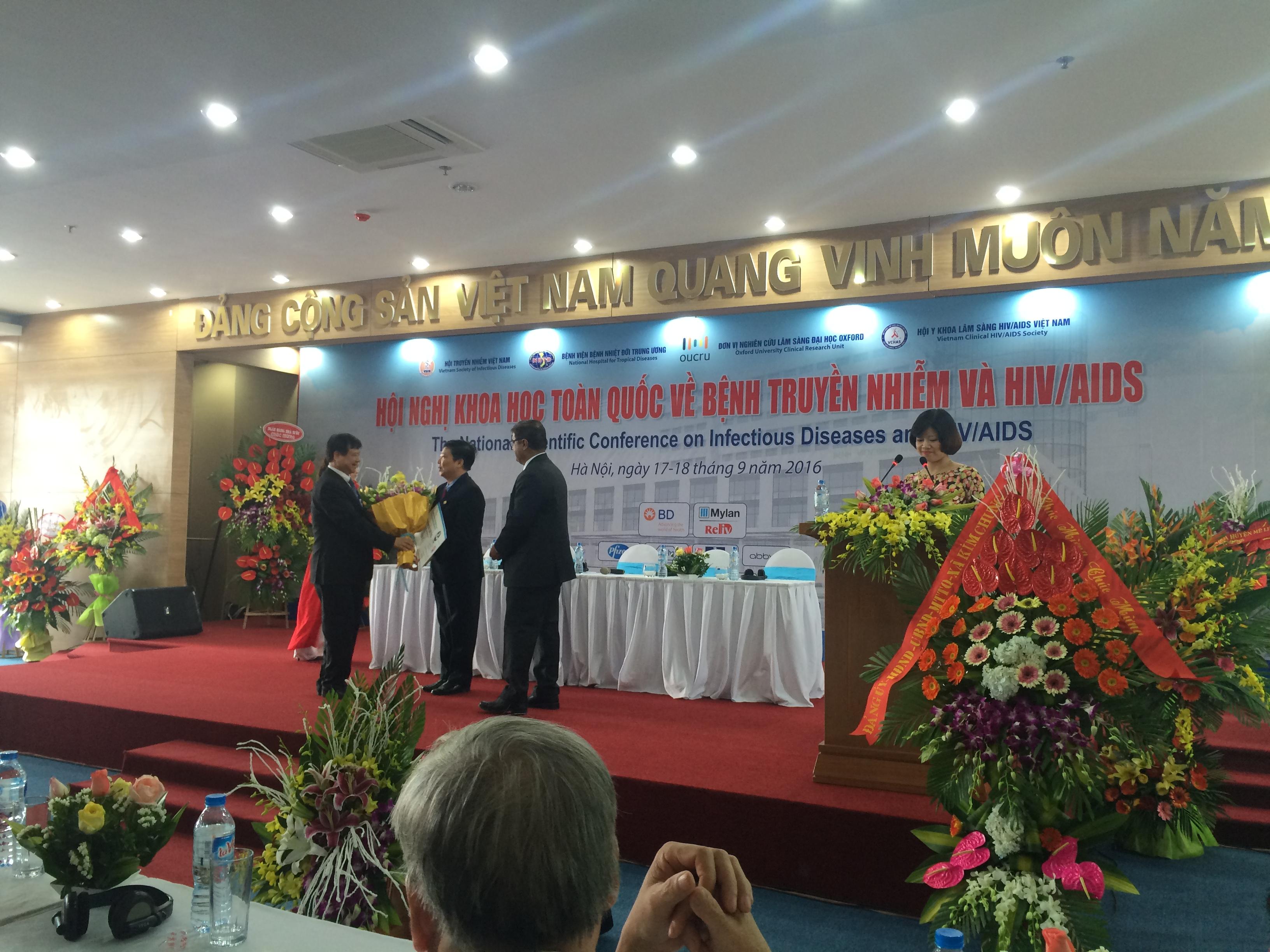 Young Investigators Awards - Vietnam 2016